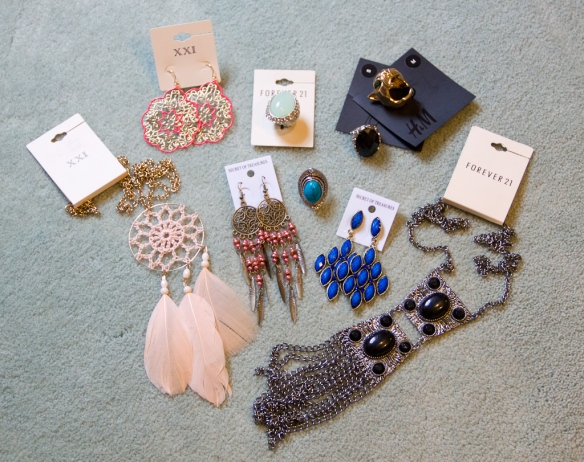 NYC Jewelry Finds; H&M Forever 21